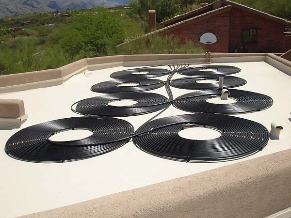 SolarTech 8 Coil Solar Pool Heating Installation